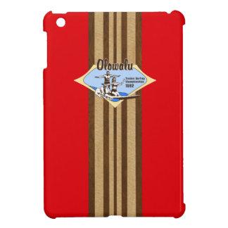 Tandem Surfing Hawaiian Surfboard iPad Mini Cases Cover For The iPad Mini