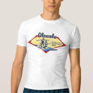 Tandem Surfing Hawaiian Vintage Surf Rash Guard T-Shirt