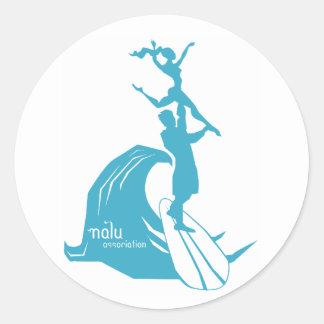 Tandem Surfing Sticker