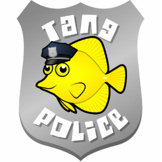 Tang Police Photo Sculpture Badge