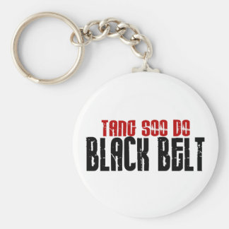 Tang Soo Do Black Belt Karate Key Ring