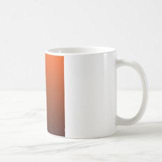 Tangelo to Seal Brown Horizontal Gradient Coffee Mug