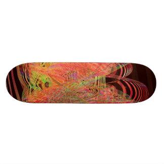 Tangerine Dreams Custom Skate Board