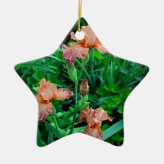 Tangerine Rhapsody Ceramic Ornament