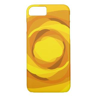 Tangerine Swirl iPhone case