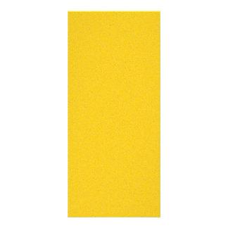 Tangerine Yellow Star Dust Personalised Rack Card
