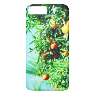 tangerines at branch. fruit collection iPhone 8 plus/7 plus case
