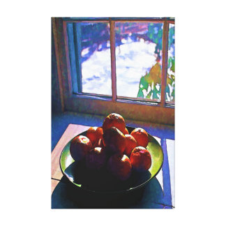 Tangerines Late Afternoon Canvas Print