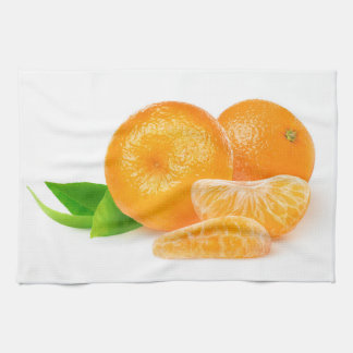 Tangerines Tea Towel