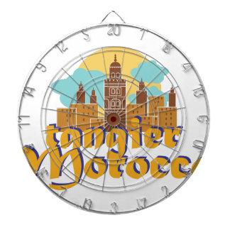 Tangier Morocco Dartboard