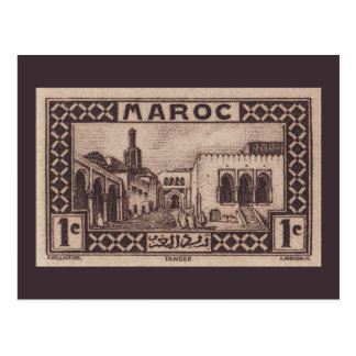 Tangier, Morocco - Postcard