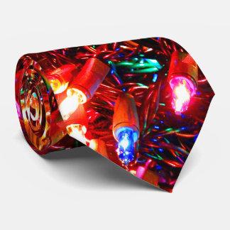 Tangle Lights II Christmas Tie