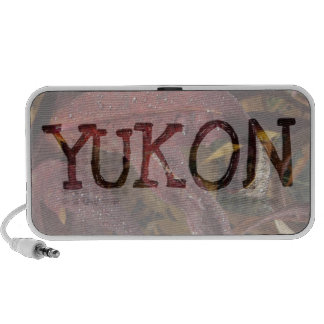 Tangled Flora; Yukon Territory Souvenir Speakers