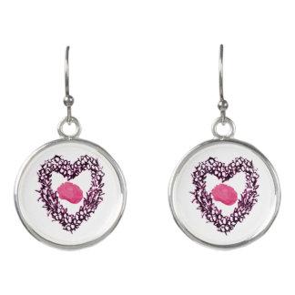 Tangled Heart Earings Earrings