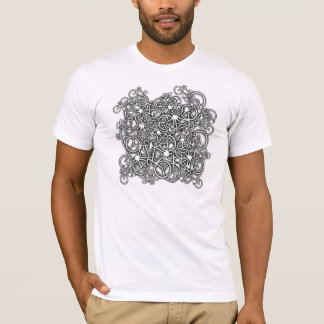 Tangled Up In Bikes - Cyclist's T-Shirt