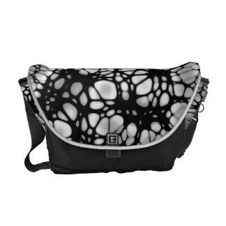 Tangled Web Gothic Design Shoulder Bag - Day Sac Messenger Bag