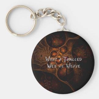Tangled Web Key Ring