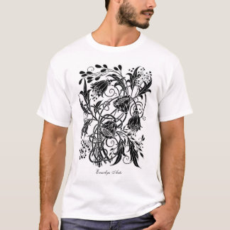 """""""Tangles"""" (inverted) tee shirt"""