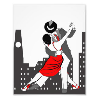 Tango and the City Photo Print