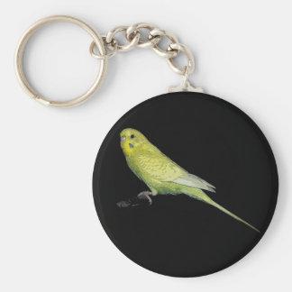 Tango budgie keychain