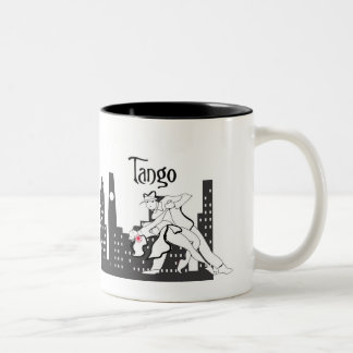 Tango City Two-Tone Coffee Mug