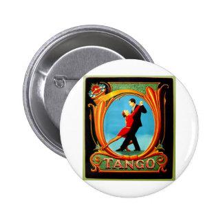 Tango Dancer 6 Cm Round Badge