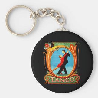 Tango Dancer Key Ring