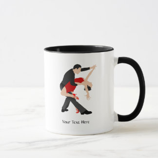 Tango Dancers (customized) Mug