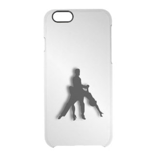 Tango Dancers Silhouette Clear iPhone 6/6S Case