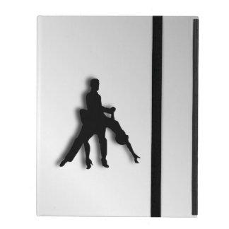 Tango Dancers Silhouette iPad Case