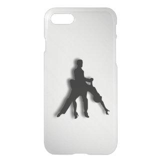 Tango Dancers Silhouette iPhone 7 Case