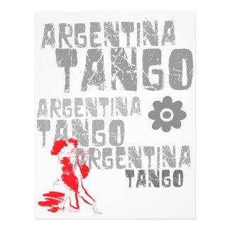 Tango Dancing 21.5 Cm X 28 Cm Flyer