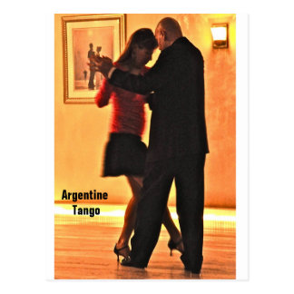 Tango Gig Post Card