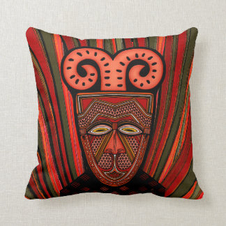 Tango Khȃmé Tribal Mask Cushion