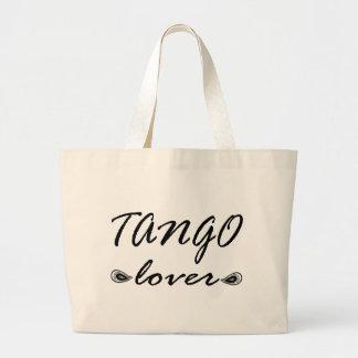 Tango Lover Exclusive Design! Canvas Bags