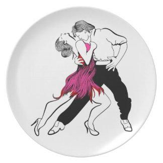 Tango Passion Plate