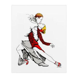 Tango Romance Acrylic Wall Art