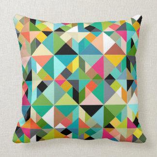 tangram geo multi throw pillow