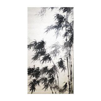 Tani Buncho Bamboo Canvas Print