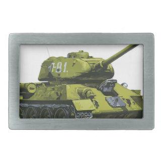 Tank Apg Russian Tank Rectangular Belt Buckle