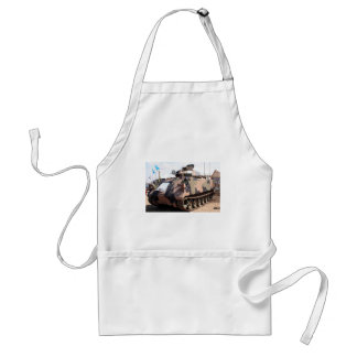 Tank: armored military vehicle standard apron