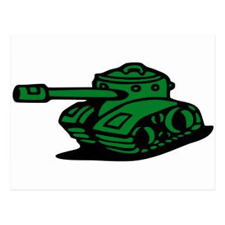 tank army postcard