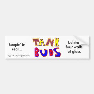 Tank Buds simple bumper sticker