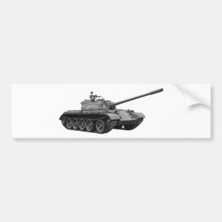 Tank Bumper Sticker