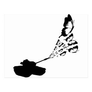 Tank Butterflies Postcard