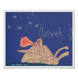 """Tank"" by A Thibodeaux, Age 8 Poster"