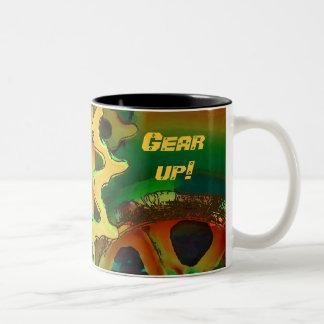 tank gear ... Gear up! Mug