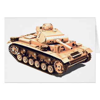 Tank images for greeting-card card