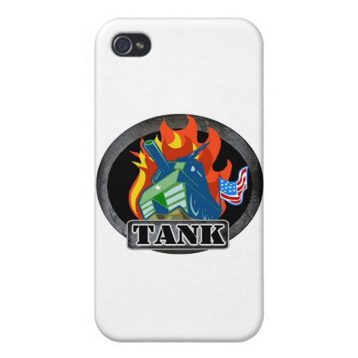 Tank iPhone 4/4S Cases