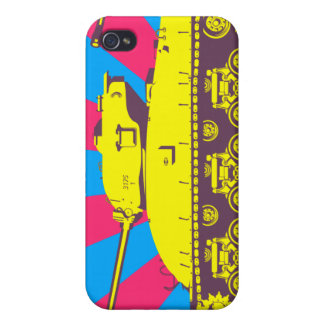 Tank iPhone Case (neon) Cases For iPhone 4